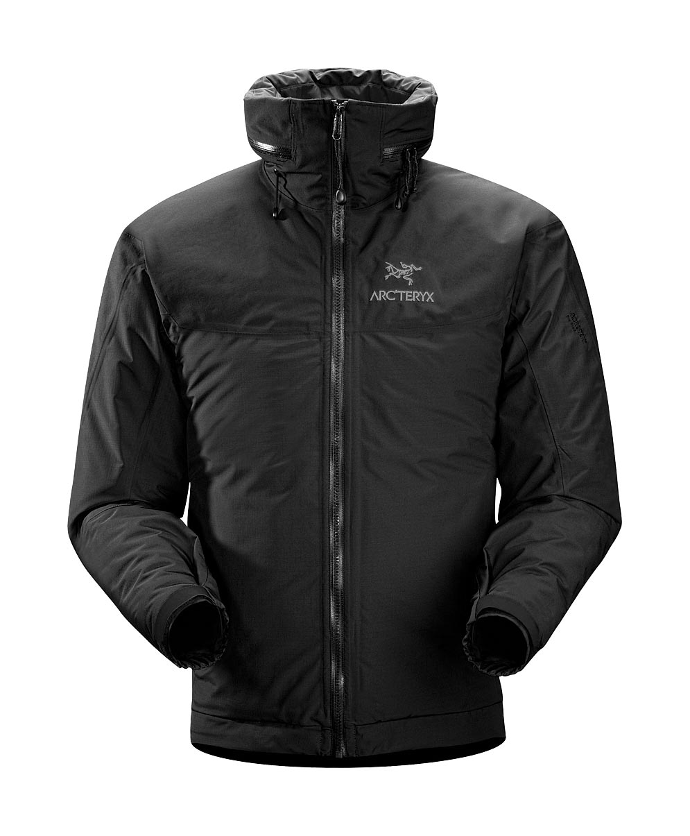 Arcteryx Black Fission AR Jacket