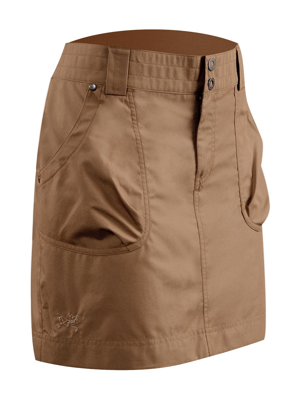 Arcteryx Nubian Brown Rana Skirt - New