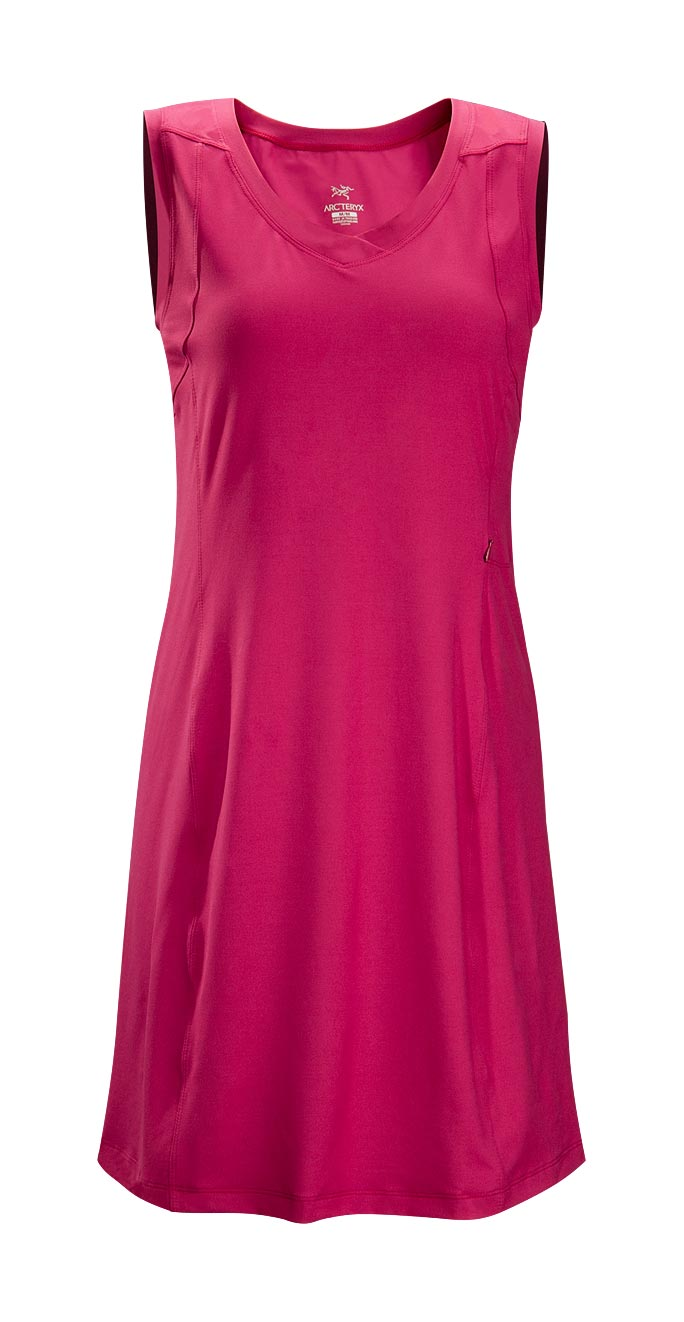 Arcteryx Cassis Rose Soltera Dress - New